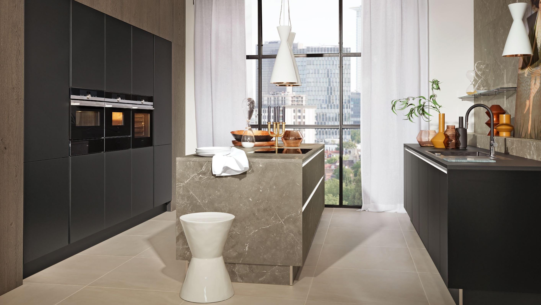 Strange Manhattan Marble Grey Phoenix Black Soft Mat Kitchen Design Download Free Architecture Designs Itiscsunscenecom