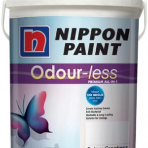 Odour less 3-in-1 plastic emulsion